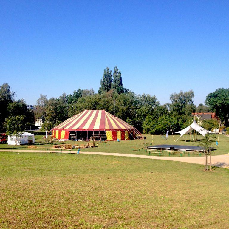 Zirkusfestival voraus: 20.-22.8.